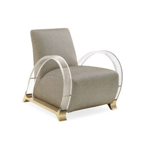 Classic Beige Arch Support Chair