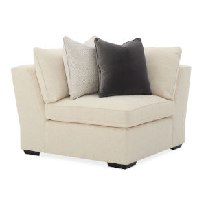 Classic Beige Back On Track Corner Sectional Sofa