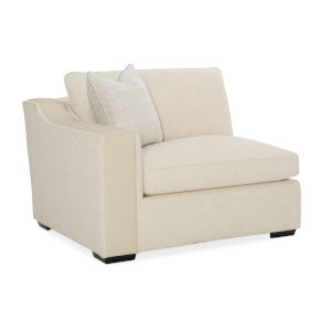 Classic Beige Back On Track LAF Chair Sectional Sofa