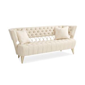 Classic Ivory Come Full Circle Sofa