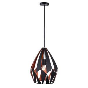 Oxide Black Copper 20-Inch One-Light Pendant
