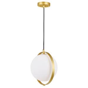 Da Vinci Brass LED Pendant