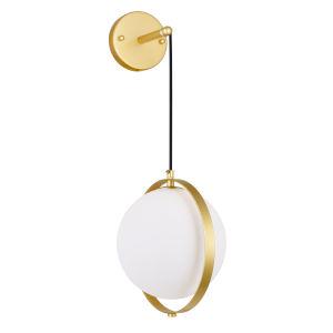 Da Vinci Brass 29-Inch LED Wall Sconce