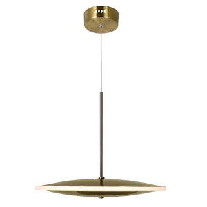 Ovni Brass 12-Inch LED Pendant