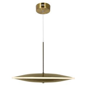 Ovni Brass 16-Inch LED Pendant