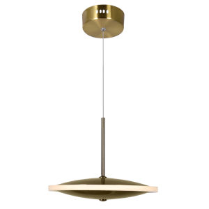 Ovni Brass Eight-Inch LED Pendant