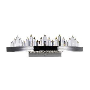 Agassiz Polished Nickel 24-Inch LED Wall Sconce