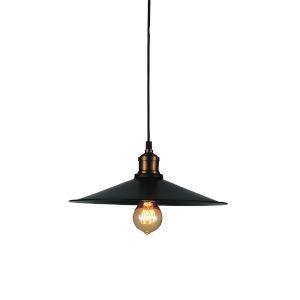 Brave Black One-Light Mini Pendant