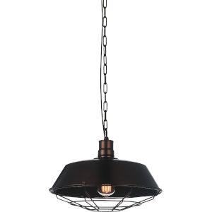 Morgan Black One-Light 14-Inch Pendant