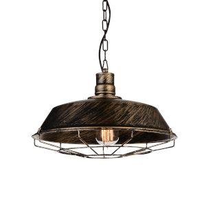 Morgan Antique Copper One-Light 14-Inch Pendant