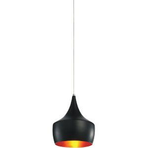 Dynamic Black One-Light 10-Inch Pendant