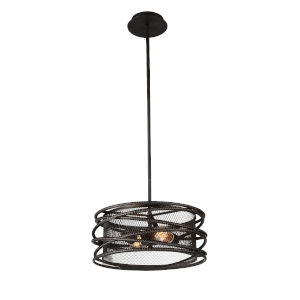 Darya Brown Two-Light Pendant