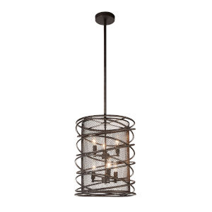 Darya Brown Six-Light Chandelier