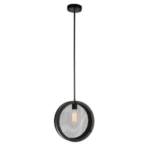 Tigris Black One-Light Pendant