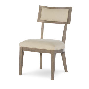 Highline by Rachael Ray Greige Side Chair, Set of Two