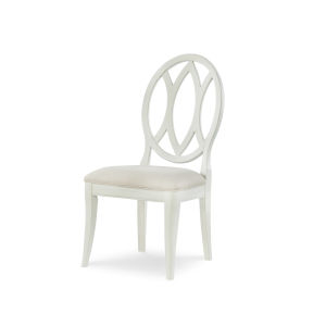 Everyday Dining by Rachael Ray Sea Salt Oval Back Side Chair, Set of Two