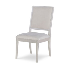 Cinema by Rachael Ray Shadow Grey Upholstered Side Chair, Set of Two