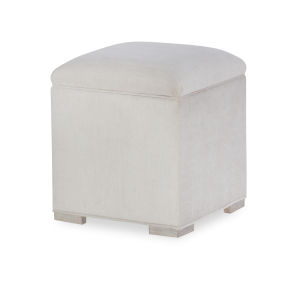 Cinema by Rachael Ray Shadow Grey Vanity Stool