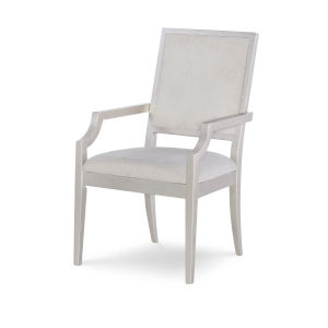 Cinema by Rachael Ray Shadow Grey Silver Screen Arm Chair, Set of Two