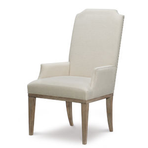 Monteverdi by Rachael Ray Sun Bleached Cypress Arm Chair, Set of Two