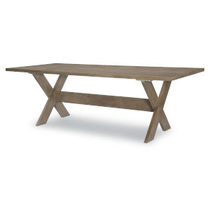 Breckenridge Barley Brown Trestle Table