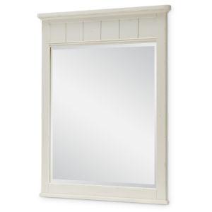 Lake House Pebble White Kids Bedroom Mirror