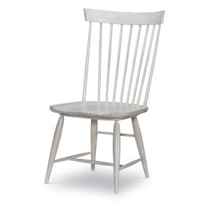 Belhaven Weathered Plank Windsor Side Chair, Set of Two