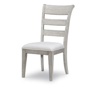 Belhaven Weathered Plank Ladder Back Side Chair, Set of Two
