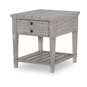 Belhaven Weathered Plank End Table