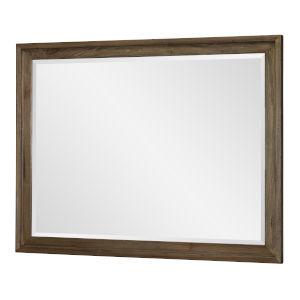 Lumberton Rugged Brown Bedroom Mirror