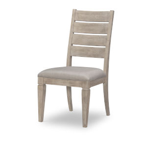 Milano by Rachael Ray Sandstone Ladder Back Side Chair