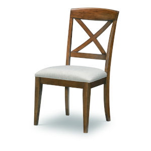 Highland Saddle Brown Side Chair, Set of Two