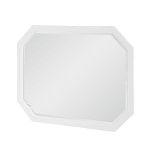 Chelsea by Rachael Ray White with Gold Accents Bedroom Mirror