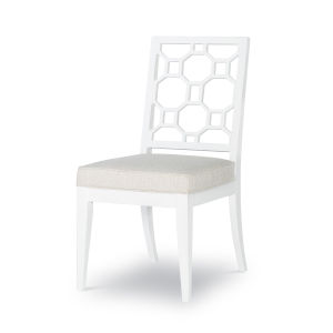 Chelsea by Rachael Ray White Side Chair, Set of Two