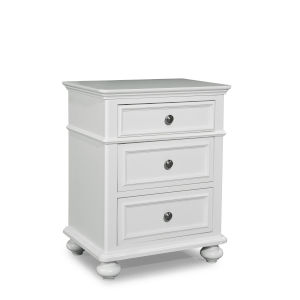 Madison Natural White Painted Finish Kids Nightstand