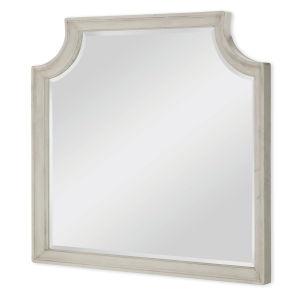 Brookhaven Vintage Linen Rustic Dark Elm Bedroom Mirror