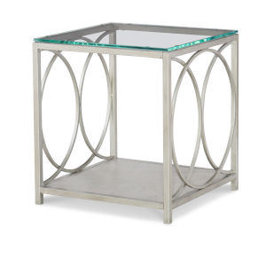 Cinema by Rachael Ray Shadow Grey End Table