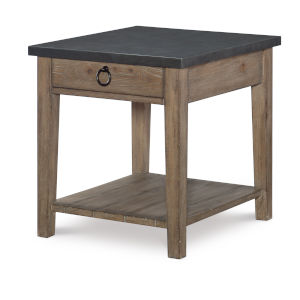 Monteverdi by Rachael Ray Sun Bleached Cypress End Table