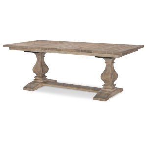 Monteverdi by Rachael Ray Sun Bleached Cypress Trestle Table