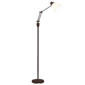 Webster Brown LED Floor Lamp
