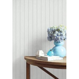 NextWall Beadboard Peel and Stick Wallpaper