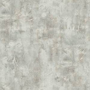 Living with Art Mauve and Icicle Rustic Stucco Faux Unpasted Wallpaper