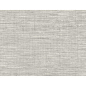 Beach House Gray Nautical Twine Stringcloth Unpasted Wallpaper