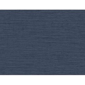 Beach House Coastal Blue Nautical Twine Stringcloth Unpasted Wallpaper