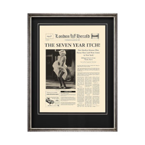 Yellow The Seven Year Itch Wall Art