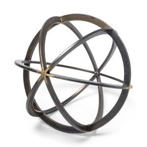 Galenna III Bronze Circular Decoratibe Orb