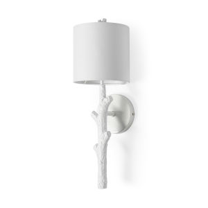 Sabinal II White One-Light Wall Sconce