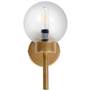 Boltern I Gold One-Light Toned Glass Wall Sconce
