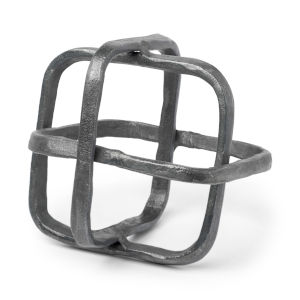 Willem II Silver Metal Cage Decorative Object
