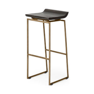 Givens Brown Bar Height Stool
